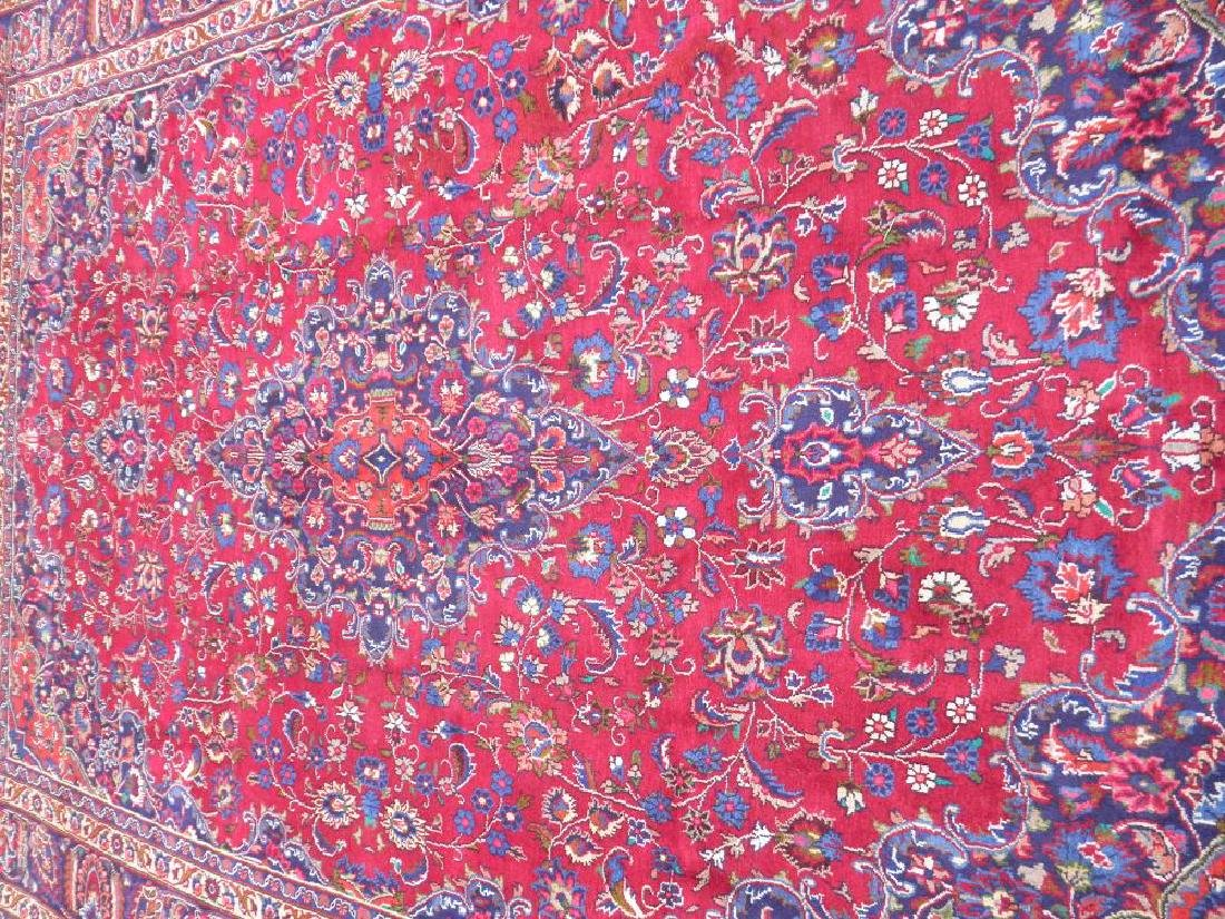 Sensational Semi Antique Persian Mashhad 11.2x7.9 - 3