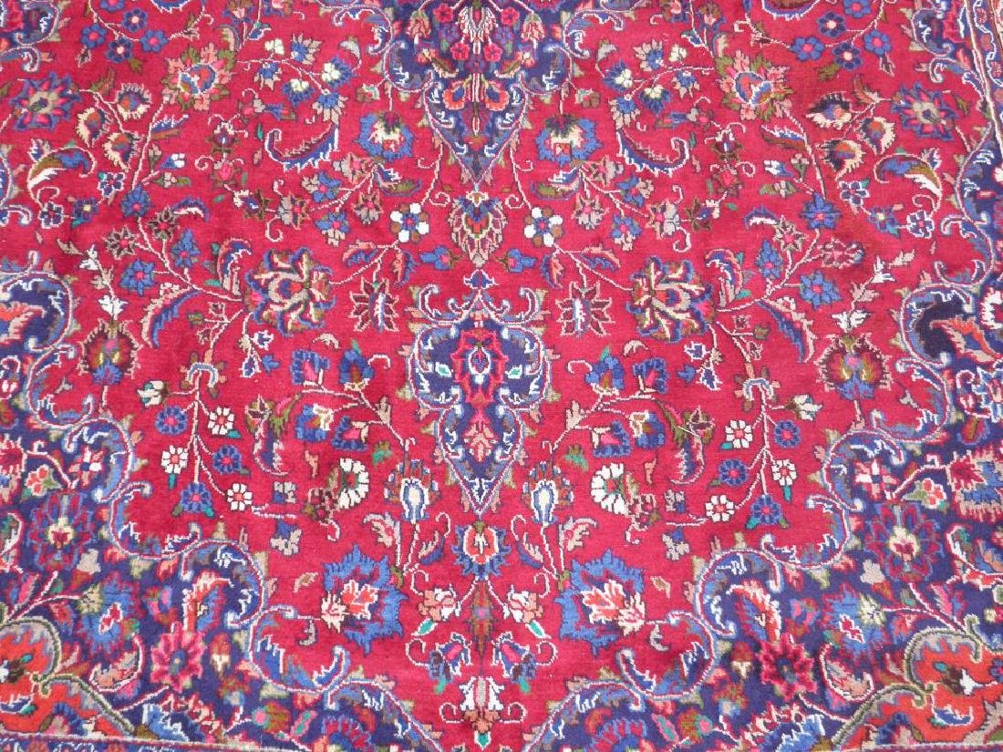 Sensational Semi Antique Persian Mashhad 11.2x7.9 - 4