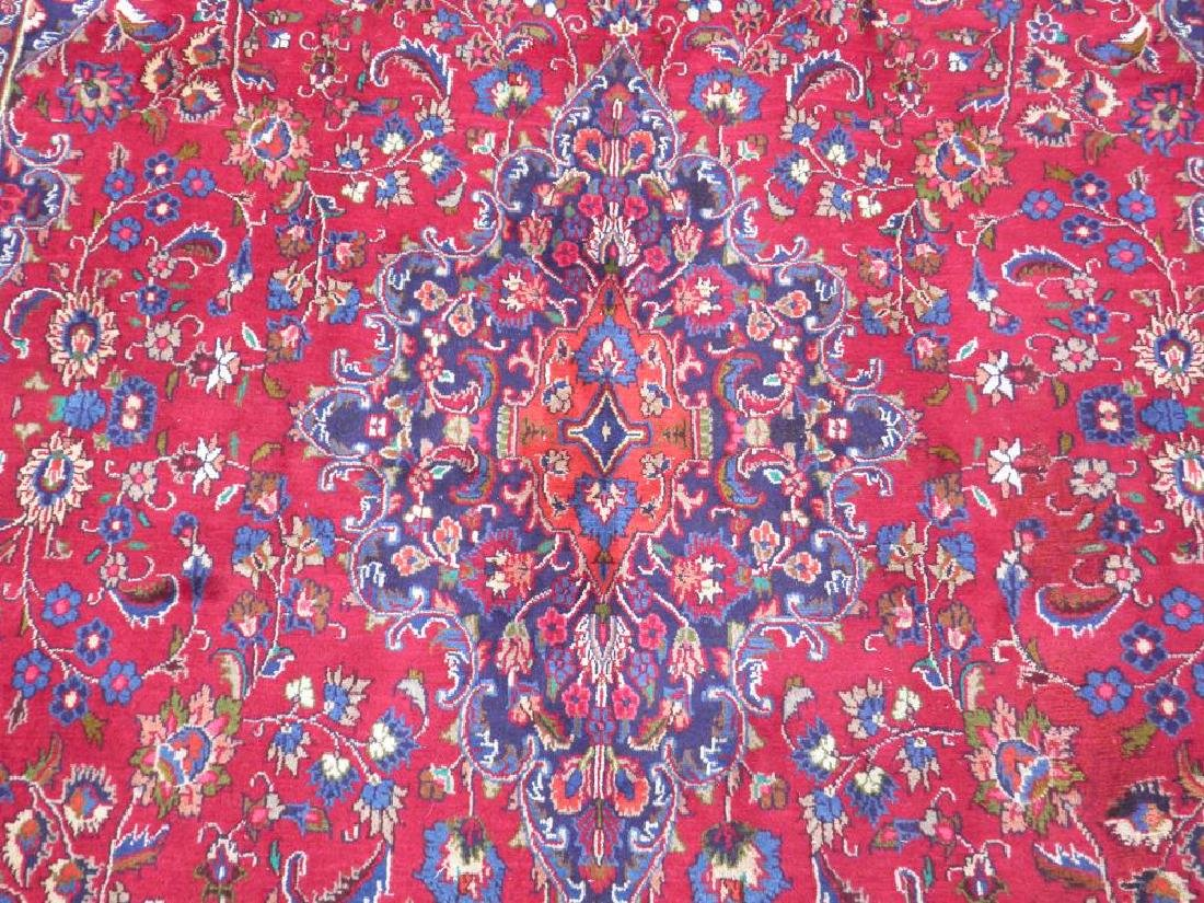 Sensational Semi Antique Persian Mashhad 11.2x7.9 - 5