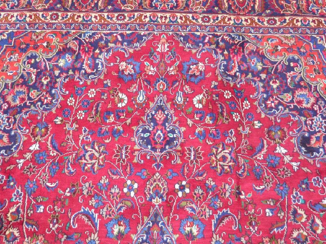 Sensational Semi Antique Persian Mashhad 11.2x7.9 - 6