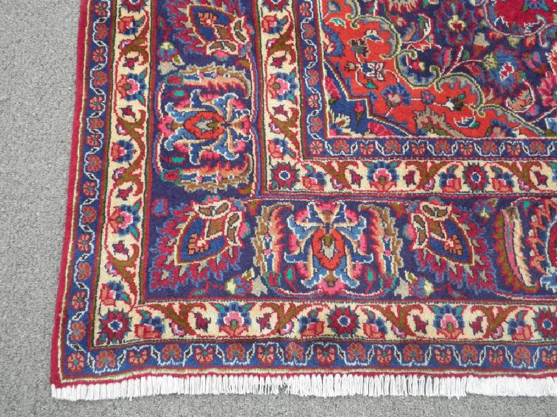 Sensational Semi Antique Persian Mashhad 11.2x7.9 - 7