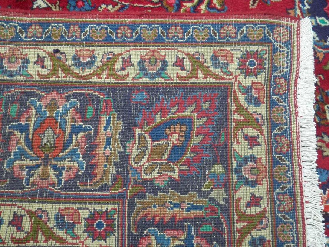 Sensational Semi Antique Persian Mashhad 11.2x7.9 - 8