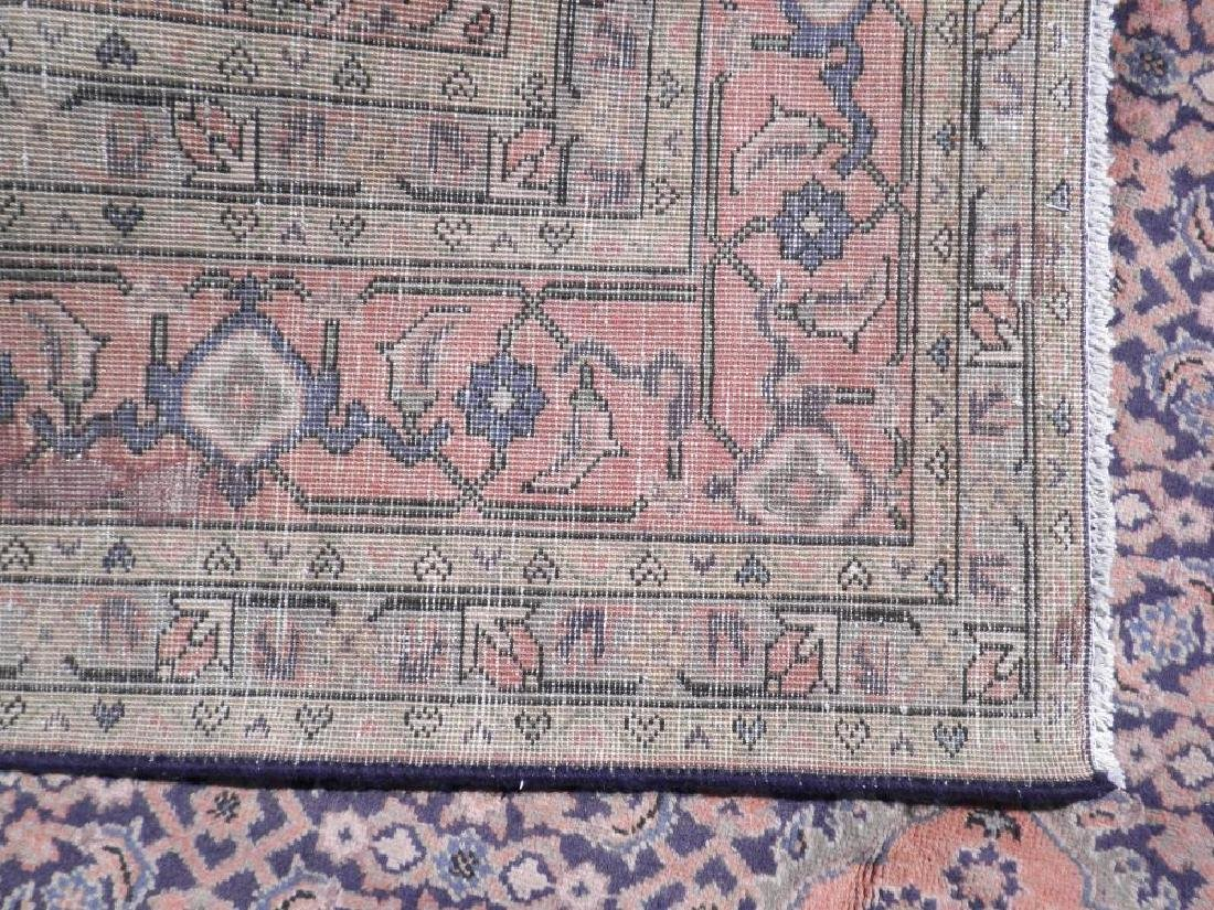 Semi Antique Persian Tabriz Mahi (Fish) Design 10.3x7.5 - 7