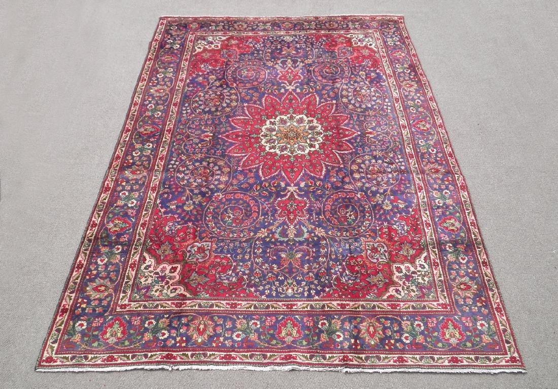 Admirable Semi Antique Persian Tabriz 12.1x8.4