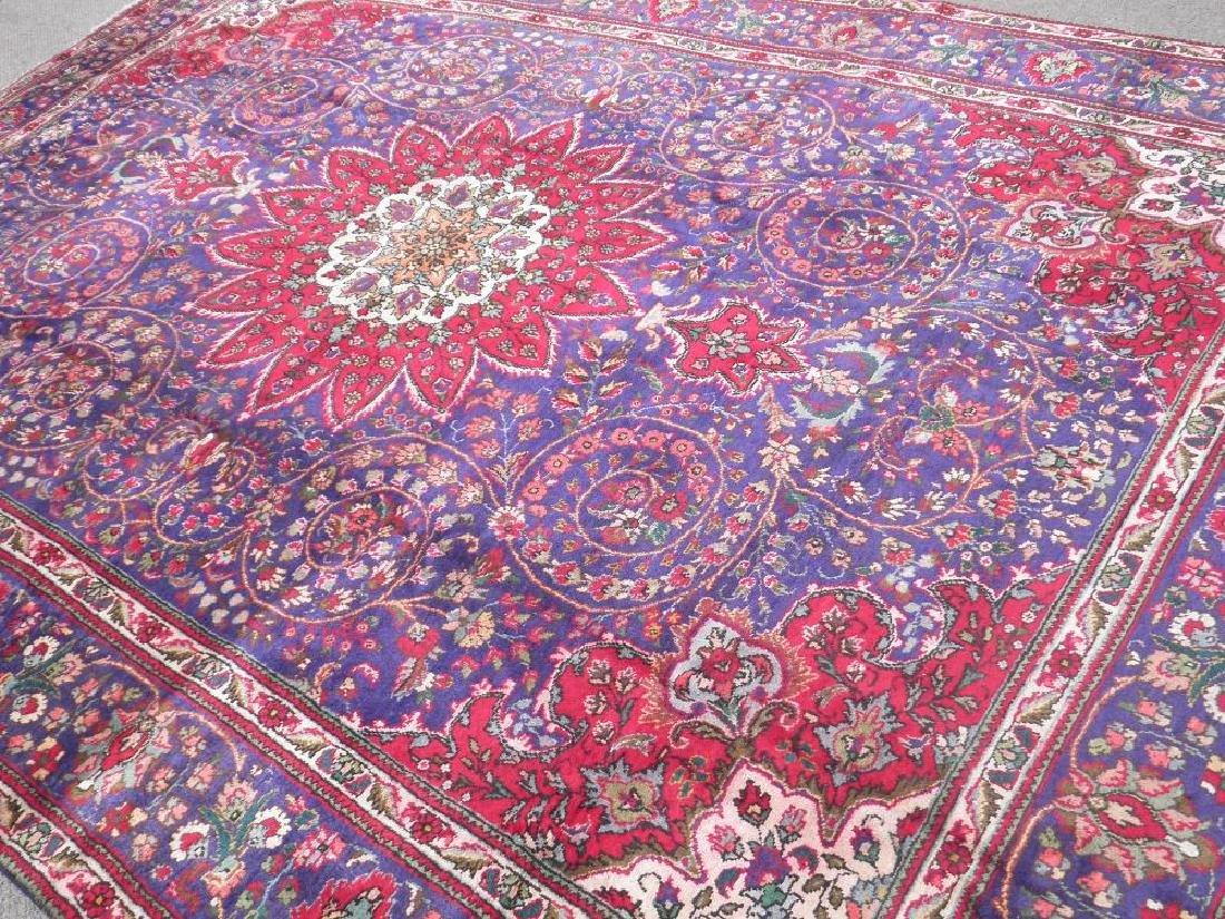 Admirable Semi Antique Persian Tabriz 12.1x8.4 - 2