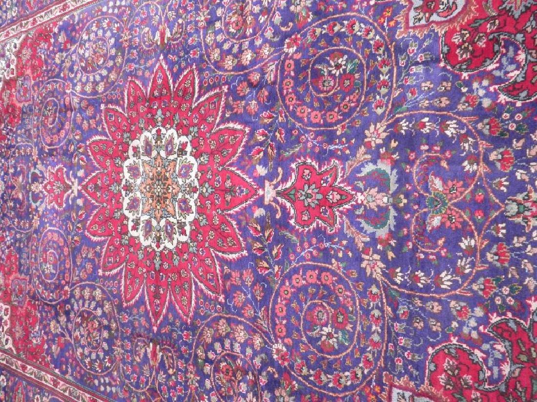 Admirable Semi Antique Persian Tabriz 12.1x8.4 - 3