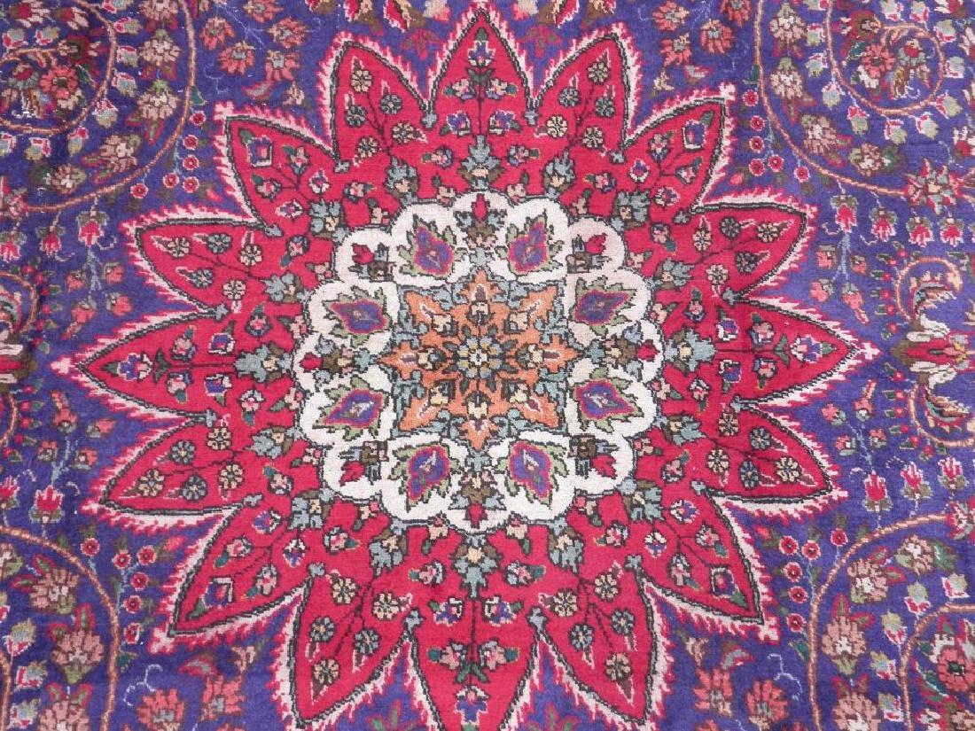 Admirable Semi Antique Persian Tabriz 12.1x8.4 - 4