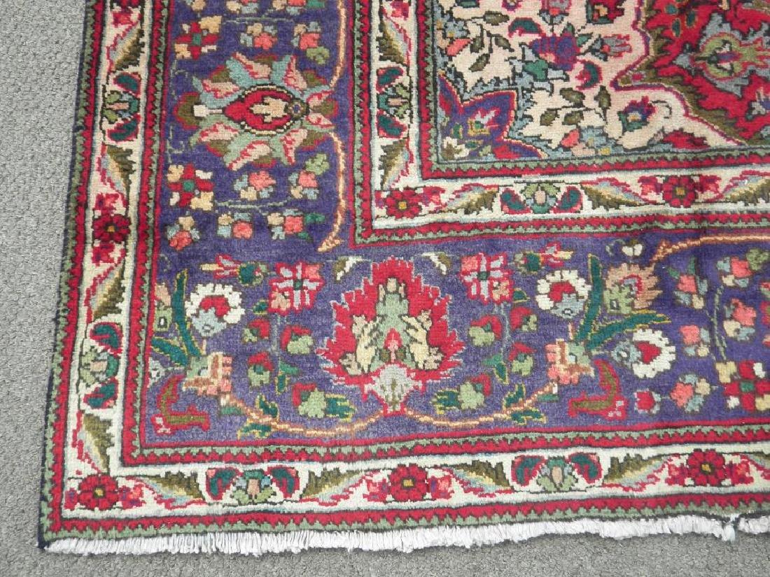 Admirable Semi Antique Persian Tabriz 12.1x8.4 - 5