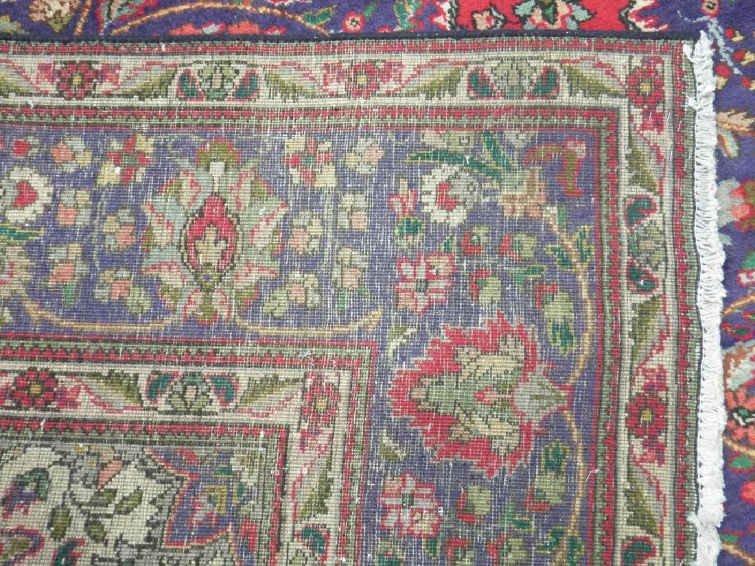 Admirable Semi Antique Persian Tabriz 12.1x8.4 - 6