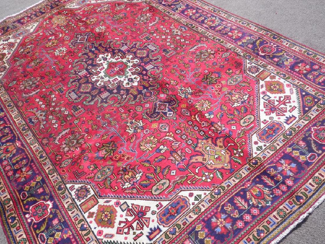 Simply Breathtaking Semi Antique Persian Tabriz 9.8x6.6 - 2