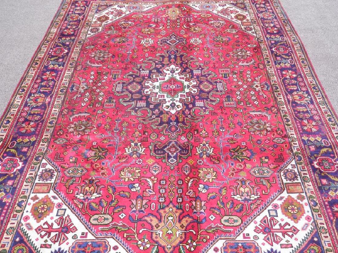 Simply Breathtaking Semi Antique Persian Tabriz 9.8x6.6 - 3