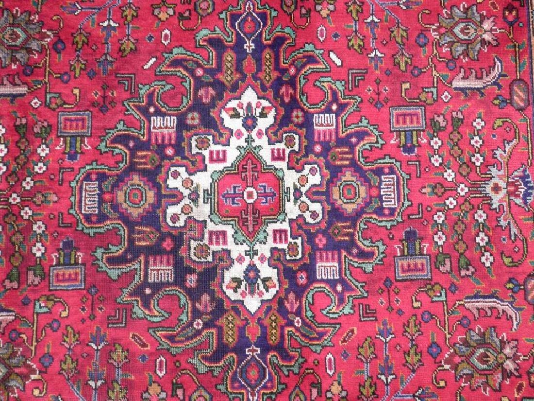 Simply Breathtaking Semi Antique Persian Tabriz 9.8x6.6 - 4