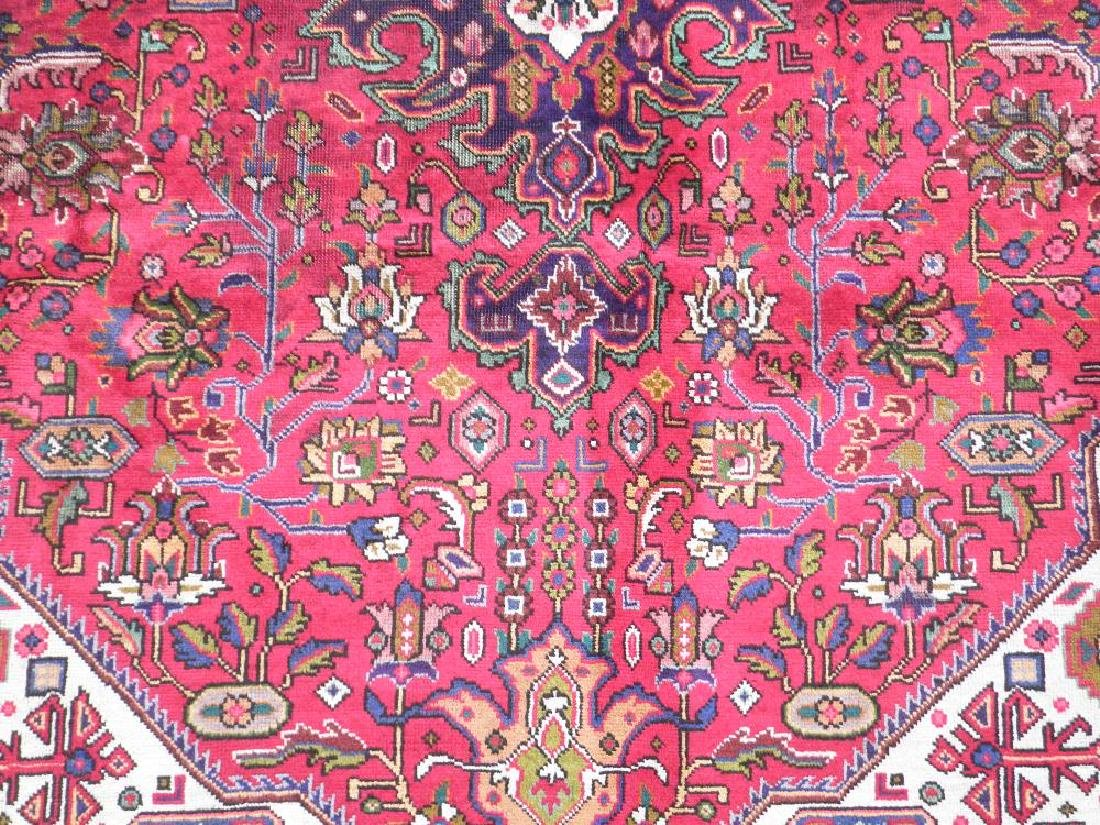 Simply Breathtaking Semi Antique Persian Tabriz 9.8x6.6 - 5