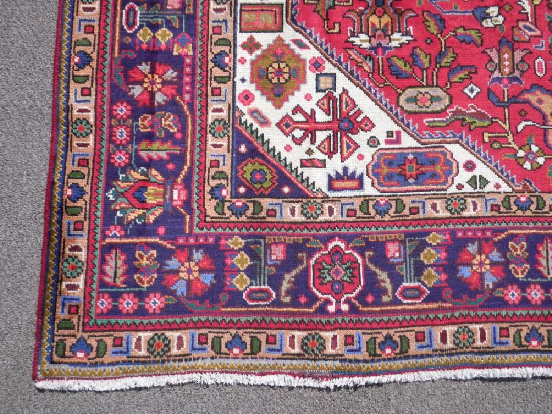 Simply Breathtaking Semi Antique Persian Tabriz 9.8x6.6 - 6