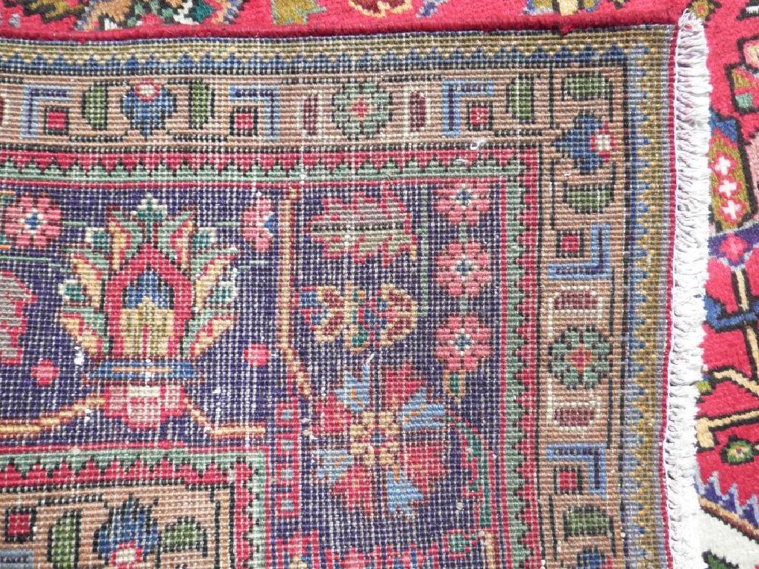 Simply Breathtaking Semi Antique Persian Tabriz 9.8x6.6 - 7