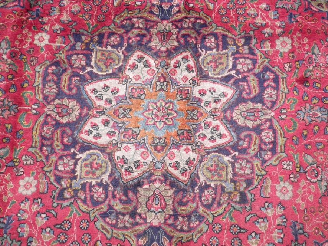 Strikingly Beautiful Semi Antique Persian Tabriz - 4