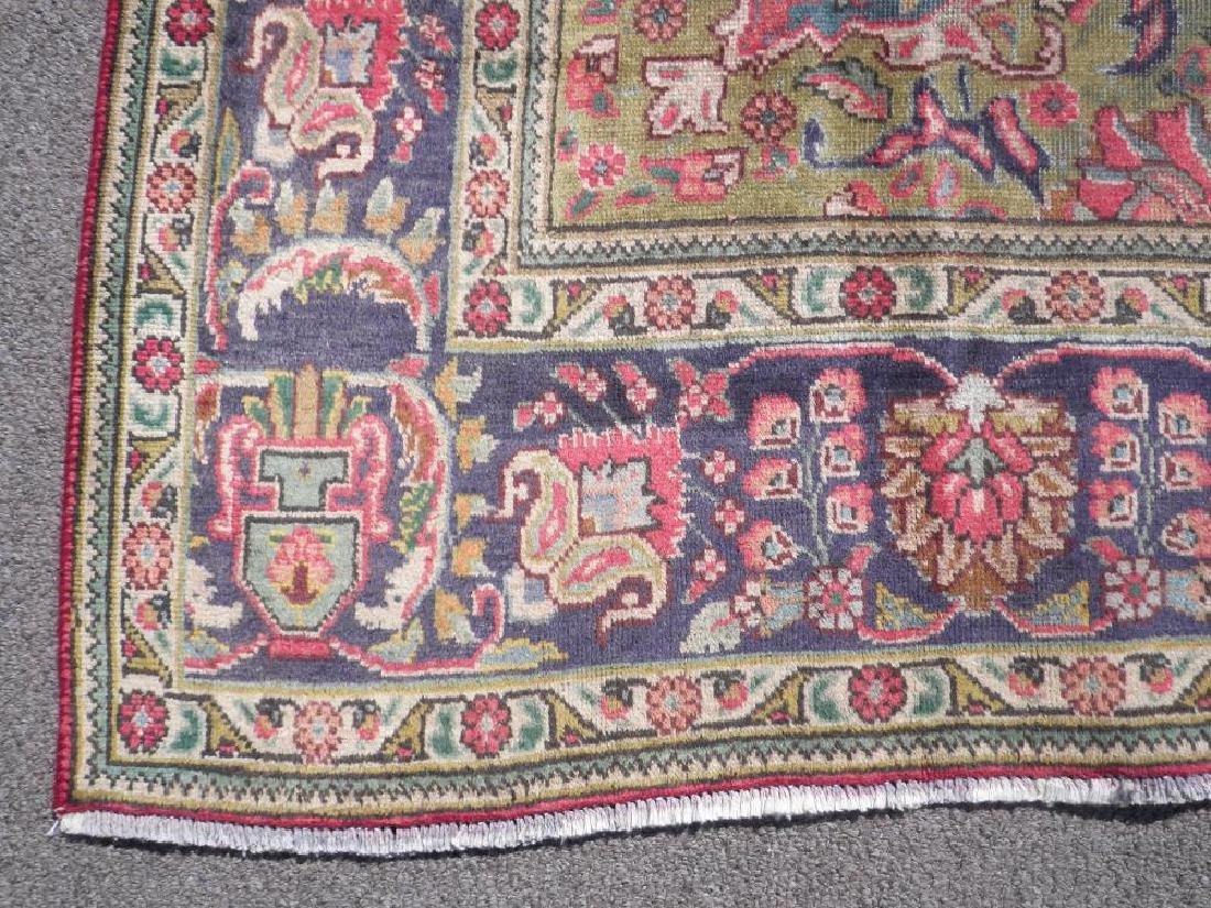 Strikingly Beautiful Semi Antique Persian Tabriz - 6