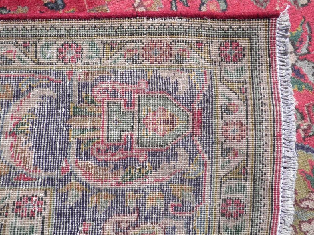 Strikingly Beautiful Semi Antique Persian Tabriz - 7