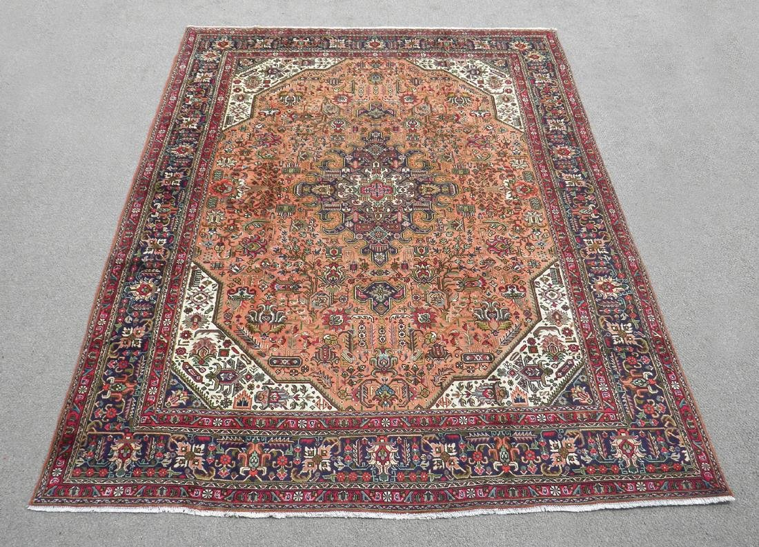 Charming Semi Antique Persian Tabriz 11.5x8.2