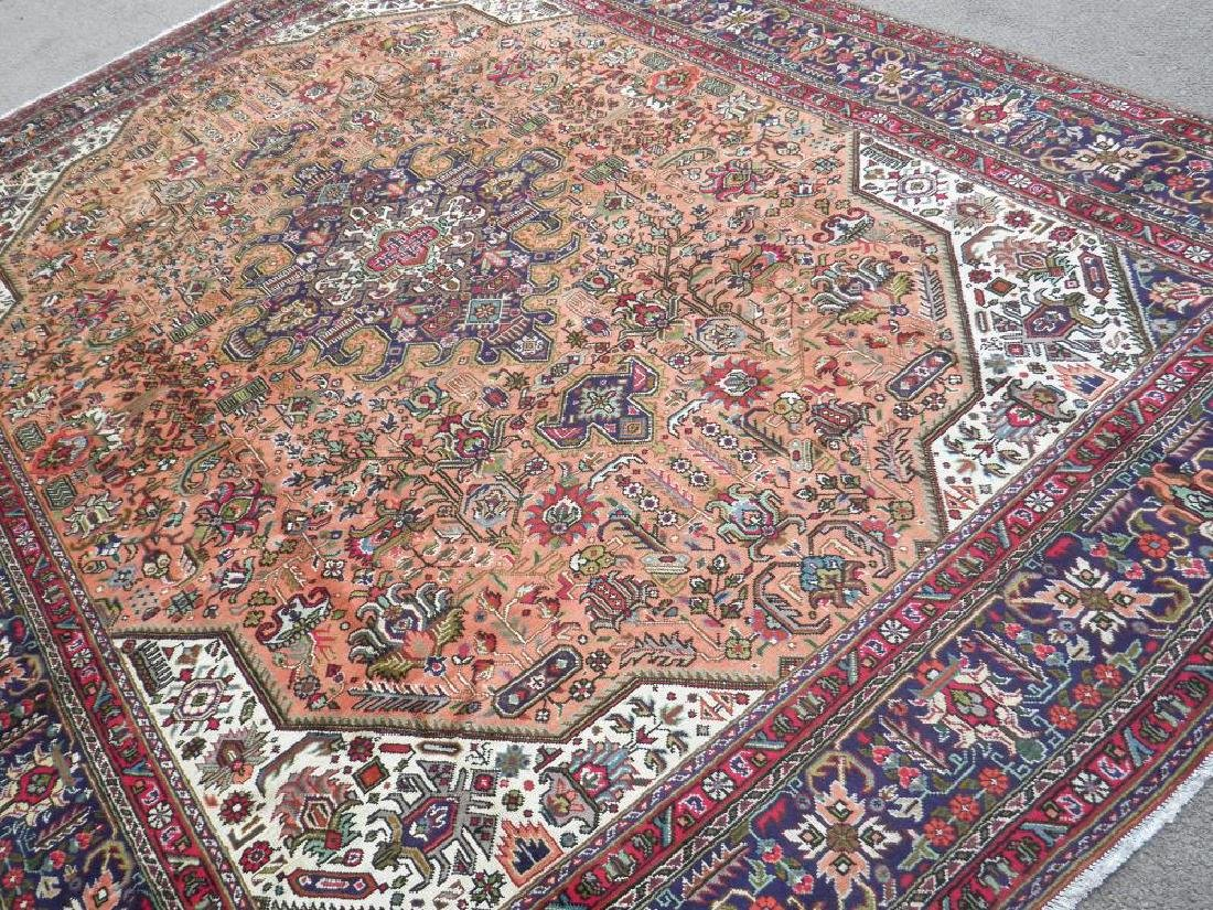 Charming Semi Antique Persian Tabriz 11.5x8.2 - 2