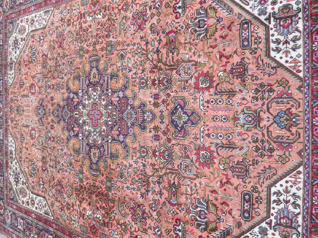 Charming Semi Antique Persian Tabriz 11.5x8.2 - 3