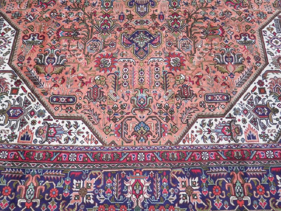 Charming Semi Antique Persian Tabriz 11.5x8.2 - 4