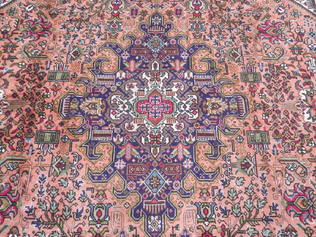 Charming Semi Antique Persian Tabriz 11.5x8.2 - 5