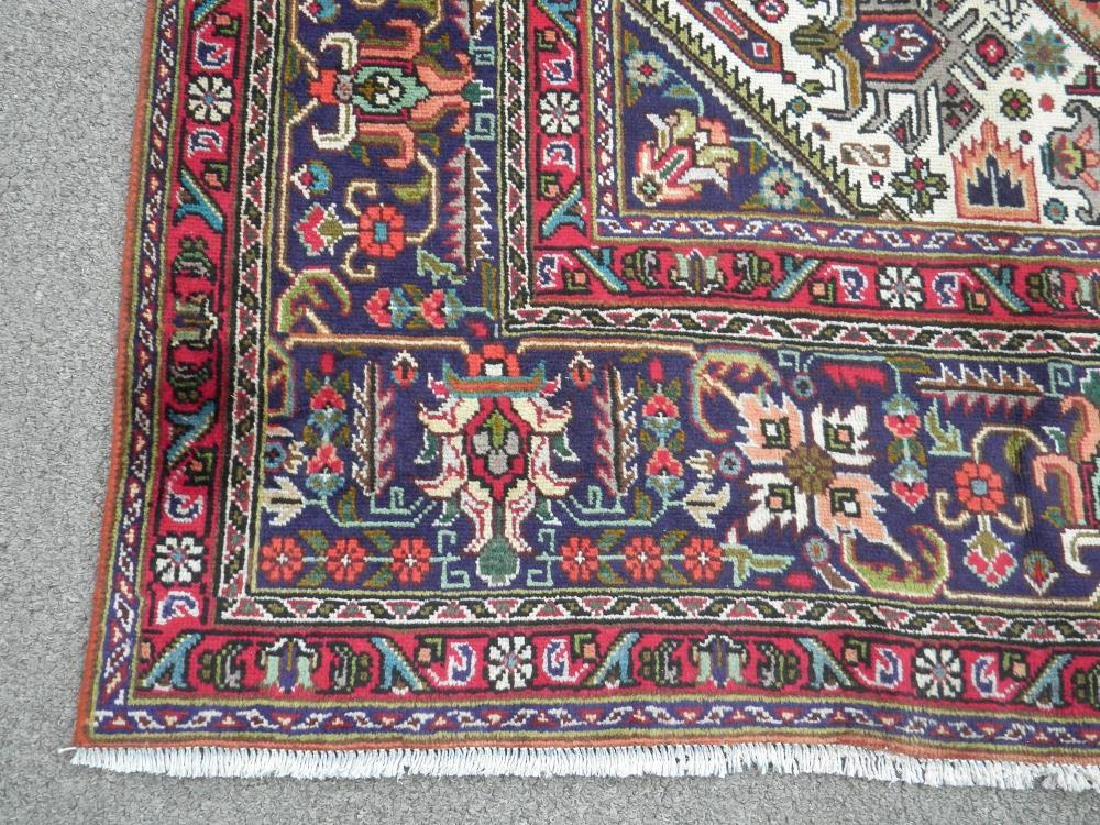 Charming Semi Antique Persian Tabriz 11.5x8.2 - 7