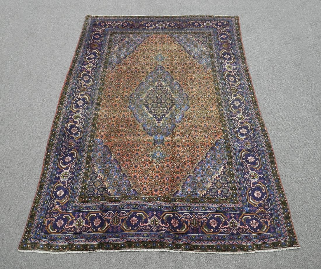 Rare Lovely Semi Antique Persian Tabriz 10.1x6.3