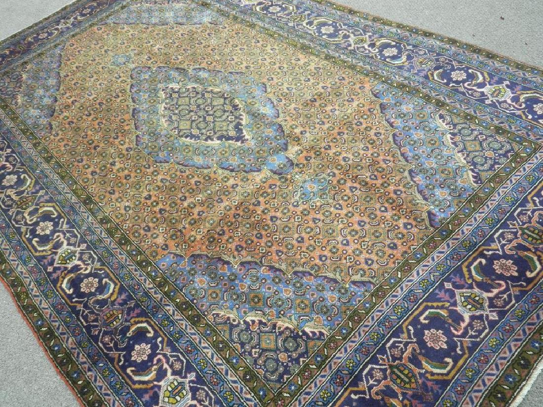 Rare Lovely Semi Antique Persian Tabriz 10.1x6.3 - 2
