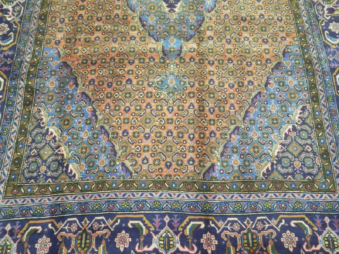 Rare Lovely Semi Antique Persian Tabriz 10.1x6.3 - 4