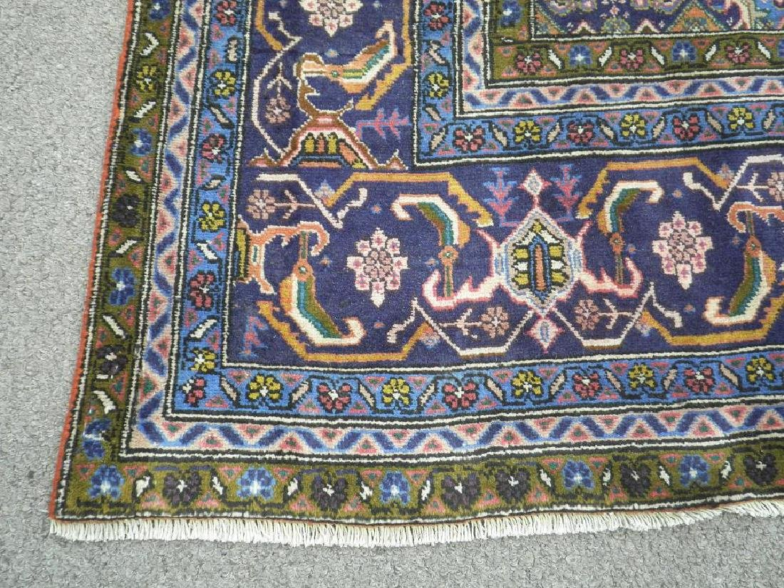 Rare Lovely Semi Antique Persian Tabriz 10.1x6.3 - 7