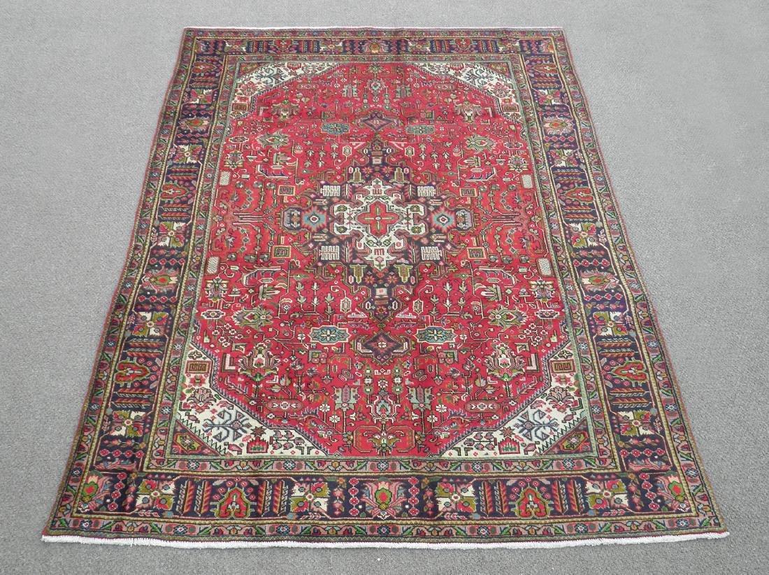 Superb Detailed Semi Antique Persian Tabriz 9.5x6.4