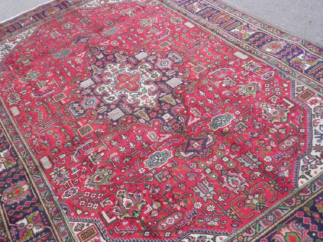 Superb Detailed Semi Antique Persian Tabriz 9.5x6.4 - 2