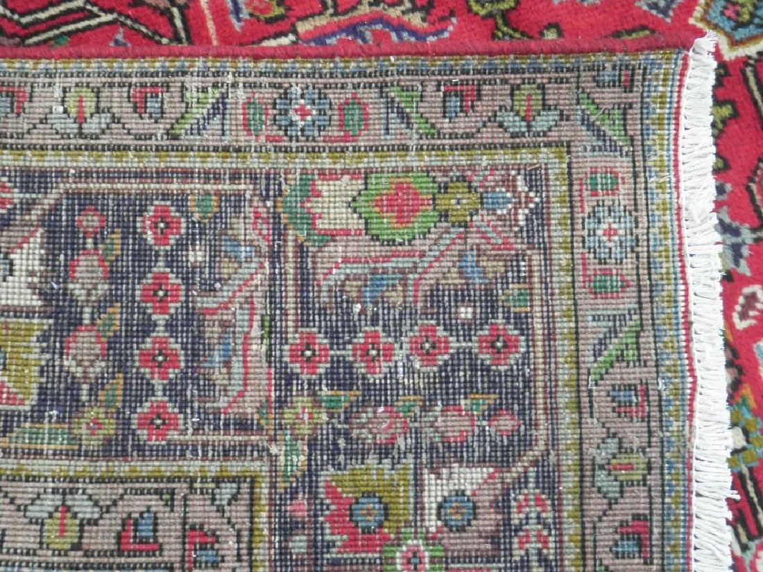 Superb Detailed Semi Antique Persian Tabriz 9.5x6.4 - 8