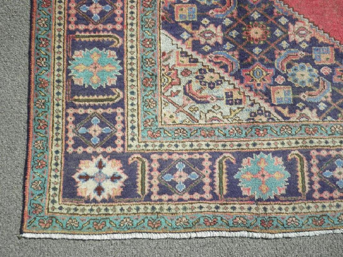 Fascinating Antique Open Field Persian Tabriz 9.7x6.6 - 5