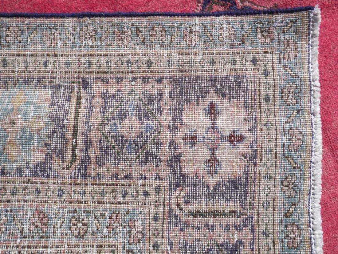 Fascinating Antique Open Field Persian Tabriz 9.7x6.6 - 6