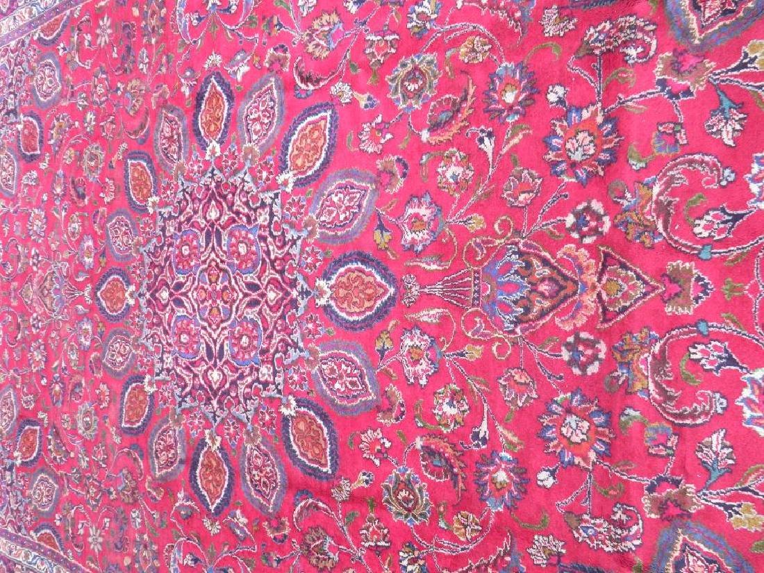 Gorgeous Semi Antique Persian Mashhad 13.2x9.4 - 3