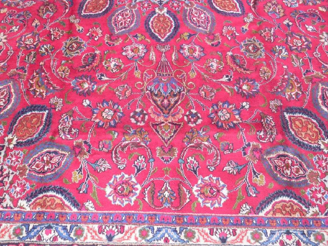 Gorgeous Semi Antique Persian Mashhad 13.2x9.4 - 4