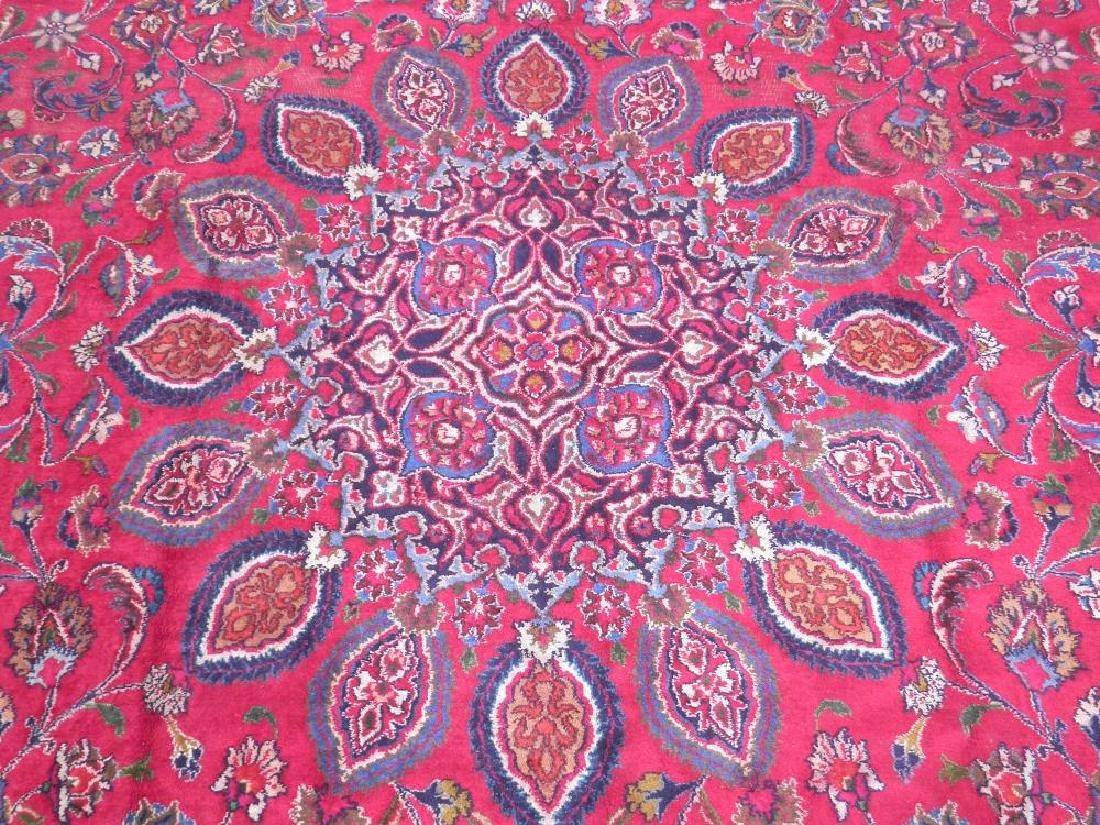 Gorgeous Semi Antique Persian Mashhad 13.2x9.4 - 5