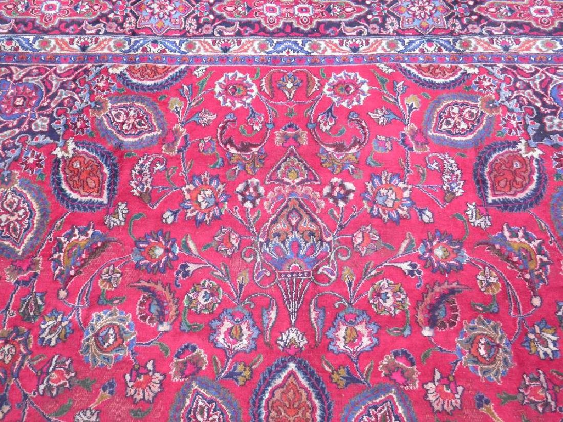 Gorgeous Semi Antique Persian Mashhad 13.2x9.4 - 6