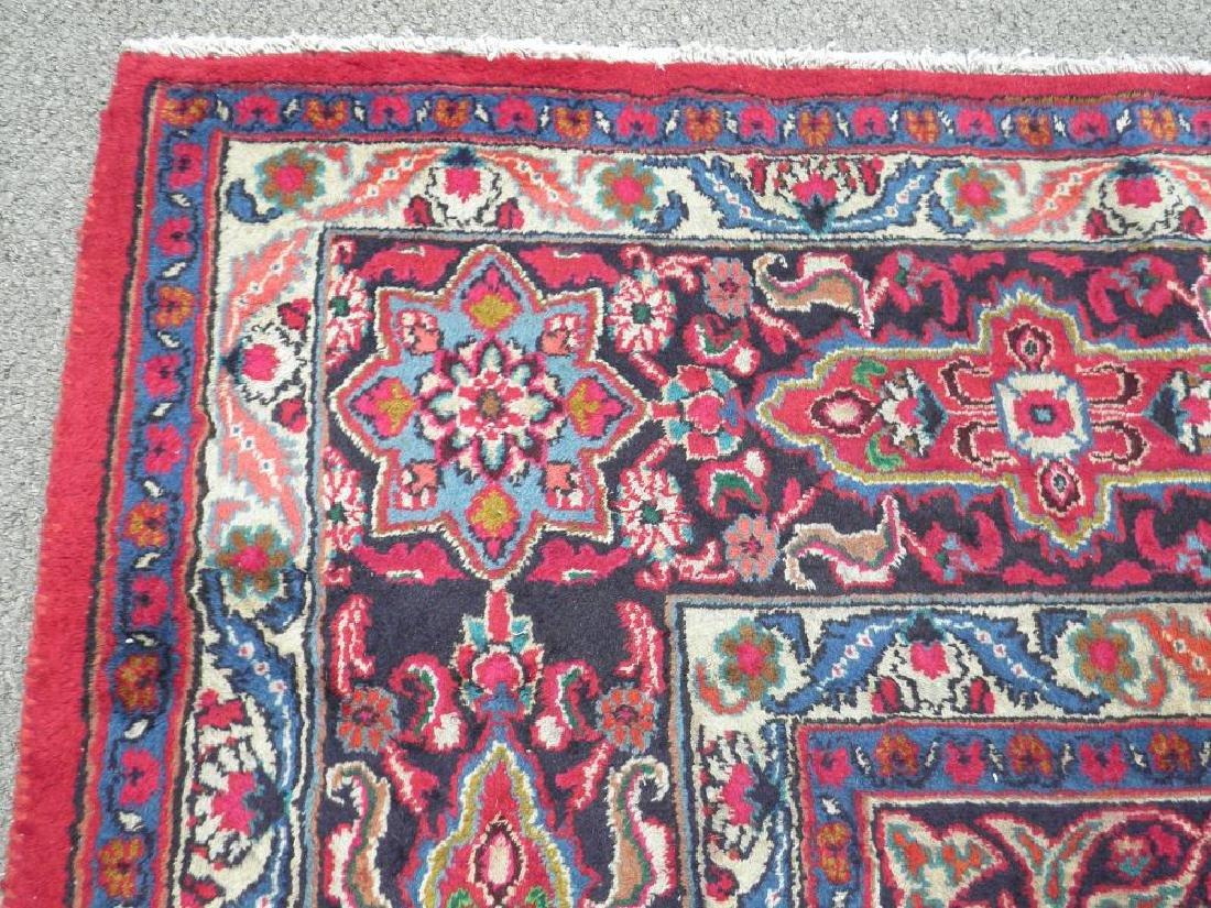 Gorgeous Semi Antique Persian Mashhad 13.2x9.4 - 7