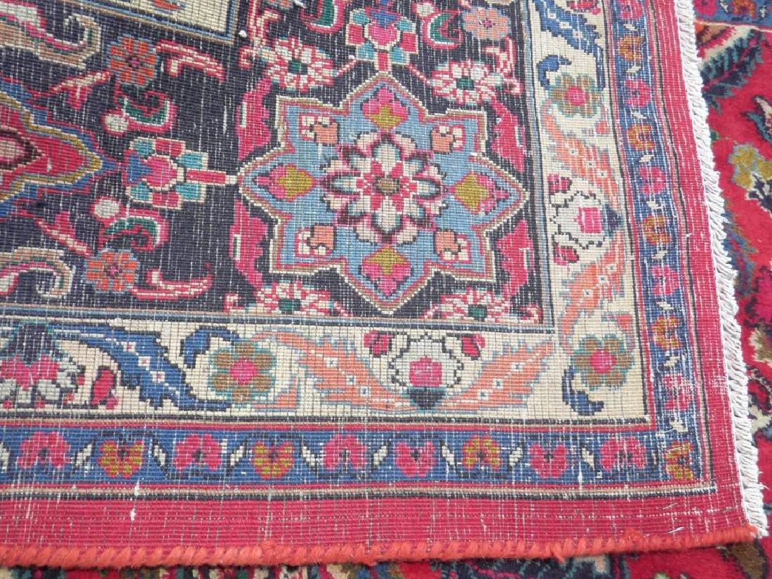 Gorgeous Semi Antique Persian Mashhad 13.2x9.4 - 8