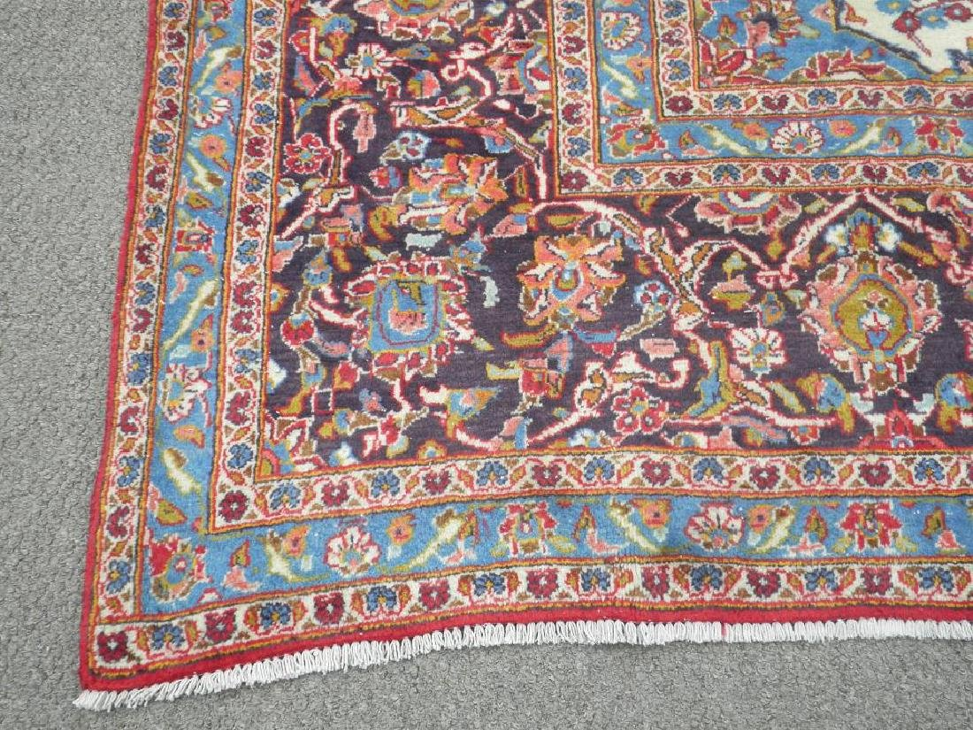 Large Room Size Semi Antique Persian Kashan 13.1x9.7 - 7
