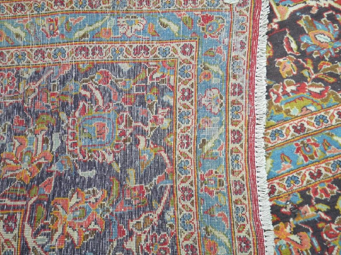 Large Room Size Semi Antique Persian Kashan 13.1x9.7 - 8