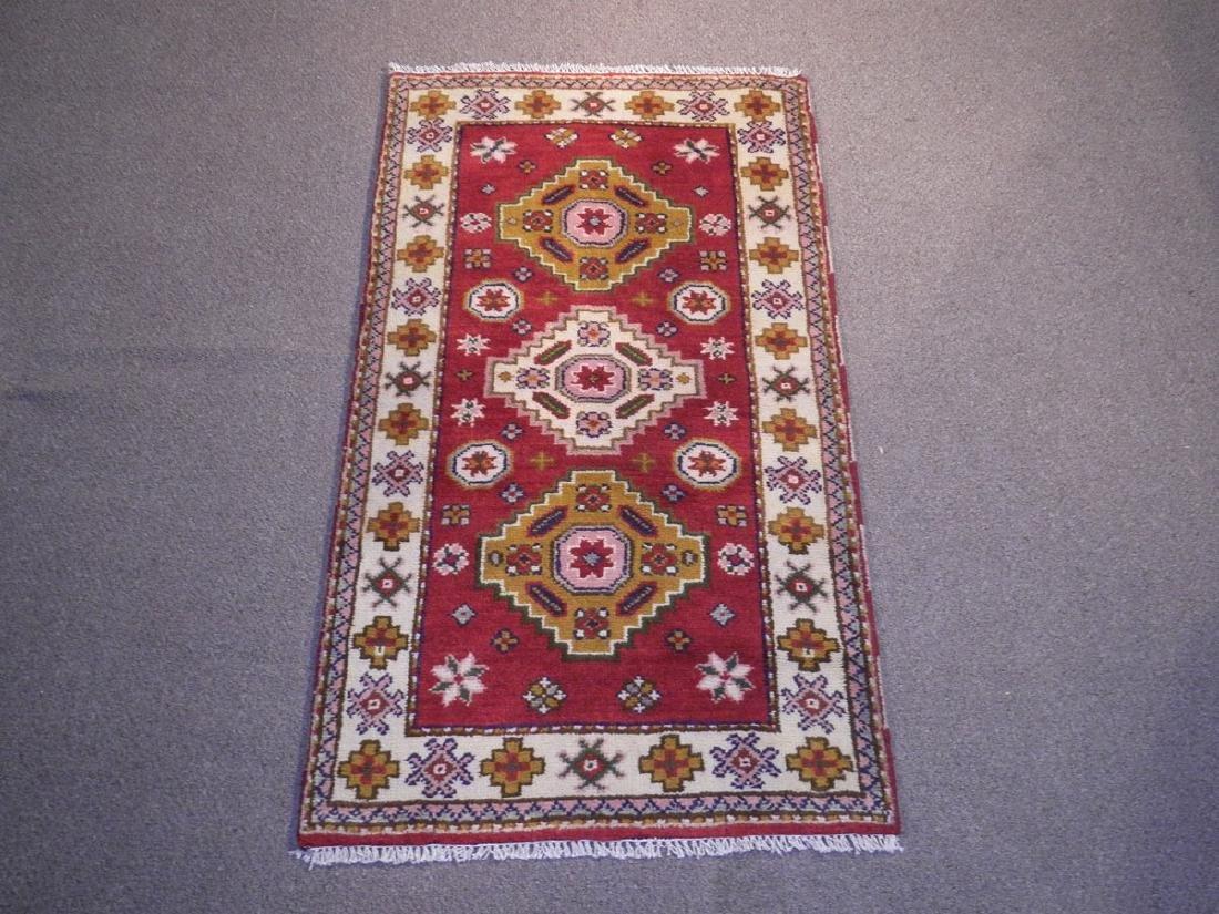 Beautiful Handmade Kazak Design 2.11x5.3
