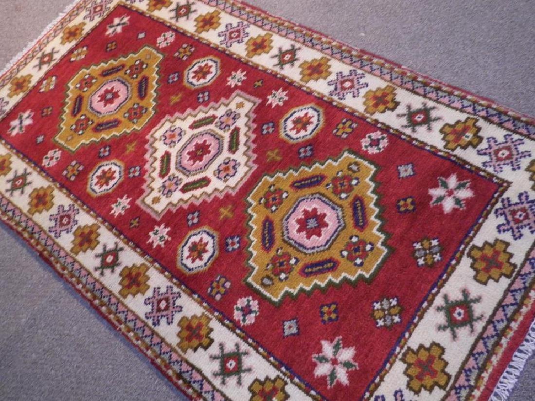 Beautiful Handmade Kazak Design 2.11x5.3 - 2
