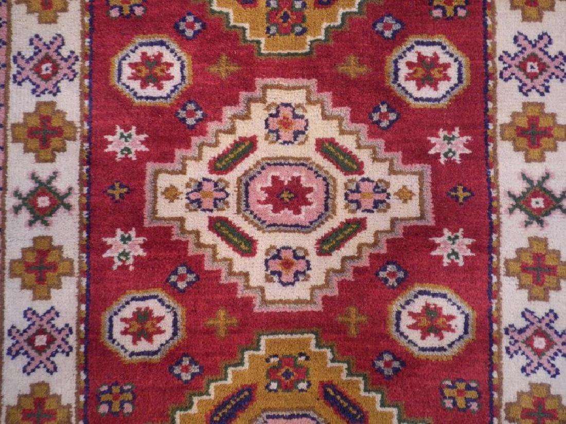 Beautiful Handmade Kazak Design 2.11x5.3 - 3