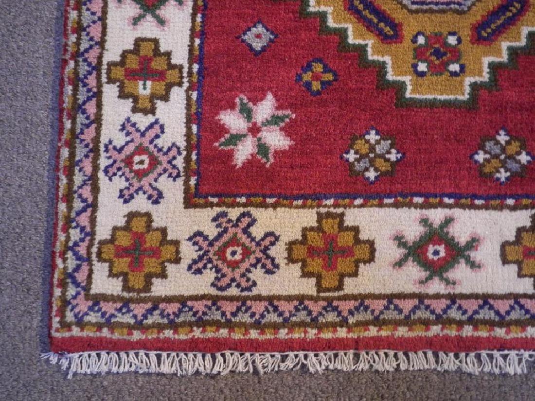 Beautiful Handmade Kazak Design 2.11x5.3 - 4