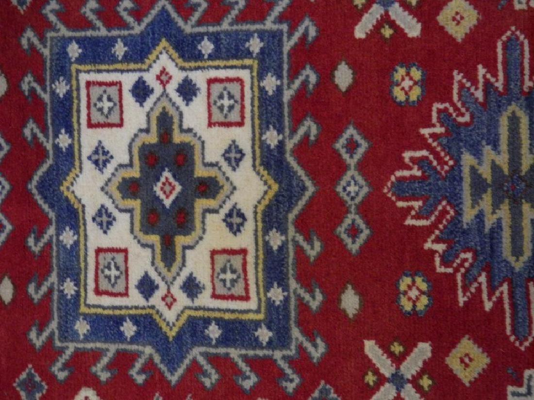 Simply Gorgeous Handmade Kazak Design 3x4.11 - 3